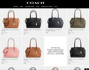 Coach New Bags