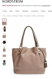 Tods Medium Flower Leather Tote
