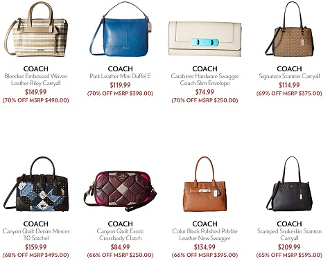 6pm Coach Bags on Sale