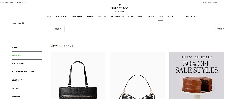 Kate spade Extra 30 Off
