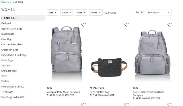 Nordstrom Rack up to 80 percent off Oct 2019